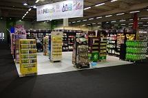 Bazar 5000 salon déstockage en DPH Droguerie Parfumerie Hygiène stand